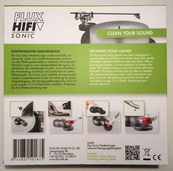 FLUX HiFi ultralyds pickuprenser